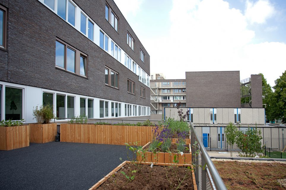 Nieuwbouw appartementen, Zorg en Onderwijs A/D Chopinlaan te Groningen - Betonmortel Centrale Groningen