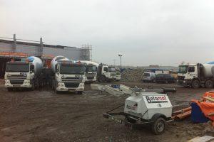 Nieuwbouw Gamma Euvelgunne Groningen - Betonmortel Centrale Groningen
