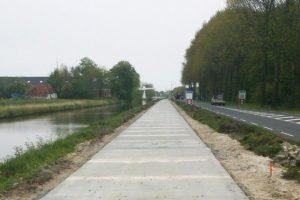 Groningen - Bedum fietsroute