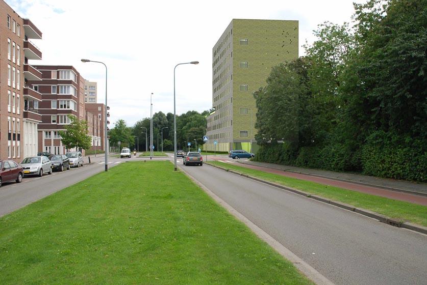 Jongerenhuisvesting Zonnelaan, Groningen