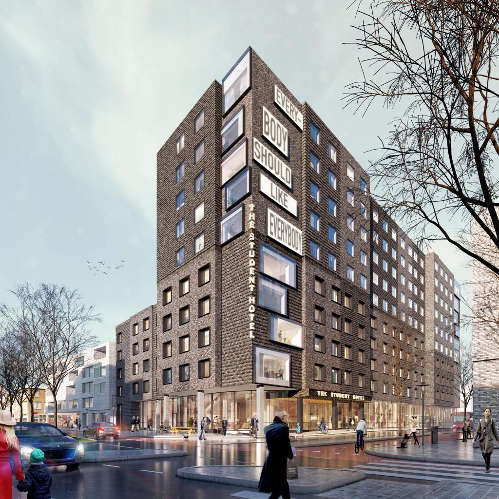 Studentenhotel Boterdiep groningen_Beton Centrale Groningen