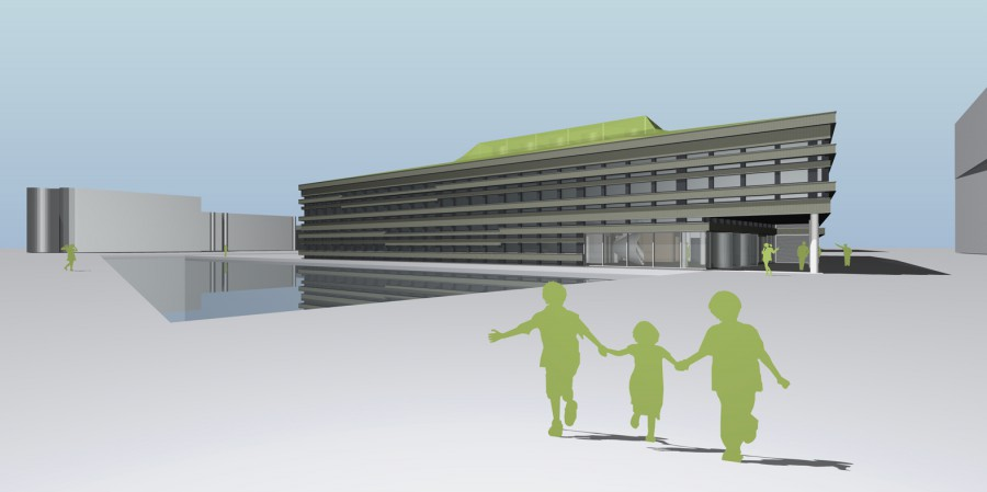 protonen kliniek umcg Groningen Beton centrale Groningen 2