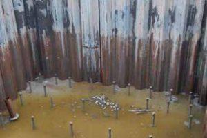 Onderwaterbeton voor waterbouwkundige werken, kelders, ondergrondse garages